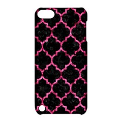 TIL1 BK-PK MARBLE Apple iPod Touch 5 Hardshell Case with Stand