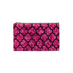 Tile1 Black Marble & Pink Marble (r) Cosmetic Bag (small)