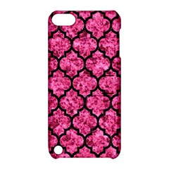 TIL1 BK-PK MARBLE (R) Apple iPod Touch 5 Hardshell Case with Stand