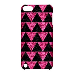 TRI2 BK-PK MARBLE Apple iPod Touch 5 Hardshell Case with Stand