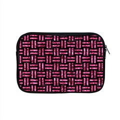 Woven1 Black Marble & Pink Marble Apple Macbook Pro 15  Zipper Case