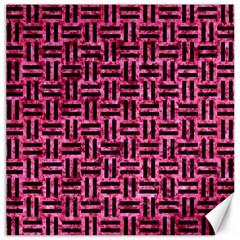 WOV1 BK-PK MARBLE (R) Canvas 20  x 20