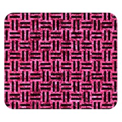 WOV1 BK-PK MARBLE (R) Double Sided Flano Blanket (Small)