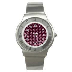 WOV2 BK-PK MARBLE Stainless Steel Watch
