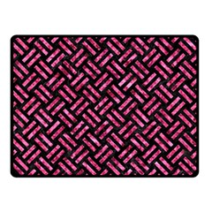 WOV2 BK-PK MARBLE Double Sided Fleece Blanket (Small)