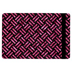 Woven2 Black Marble & Pink Marble Apple Ipad Air Flip Case