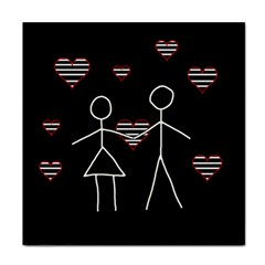 Couple in love Tile Coasters