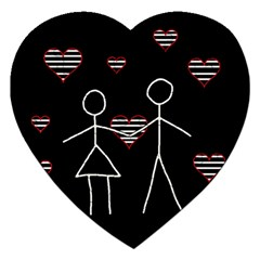 Couple in love Jigsaw Puzzle (Heart)