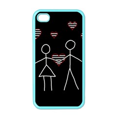 Couple in love Apple iPhone 4 Case (Color)