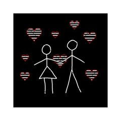 Couple in love Acrylic Tangram Puzzle (6  x 6 )