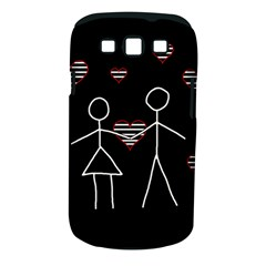 Couple in love Samsung Galaxy S III Classic Hardshell Case (PC+Silicone)