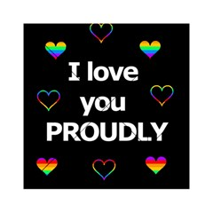 Proudly love Acrylic Tangram Puzzle (6  x 6 )