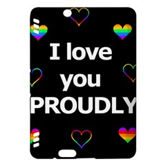 Proudly love Kindle Fire HDX Hardshell Case