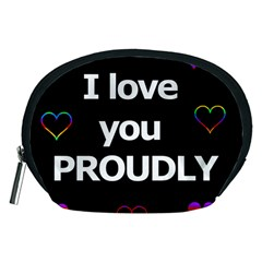 Proudly love Accessory Pouches (Medium)