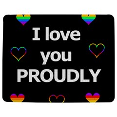 Proudly love Jigsaw Puzzle Photo Stand (Rectangular)