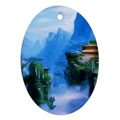 Fantasy nature Ornament (Oval)