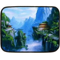 Fantasy nature Fleece Blanket (Mini)