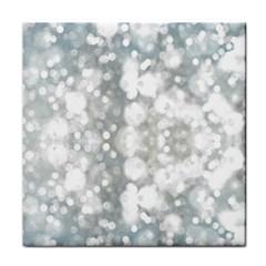 Light Circles, watercolor art painting Tile Coasters