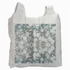 Light Circles, watercolor art painting Recycle Bag (One Side)