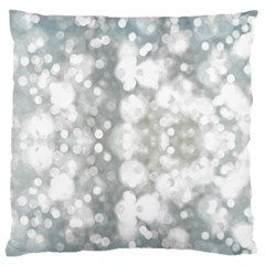 Light Circles, watercolor art painting Large Cushion Case (Two Sides)