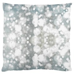 Light Circles, watercolor art painting Standard Flano Cushion Case (Two Sides)