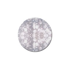 Light Circles, rouge Aquarel painting Golf Ball Marker (4 pack)
