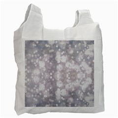 Light Circles, rouge Aquarel painting Recycle Bag (One Side)