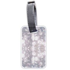 Light Circles, rouge Aquarel painting Luggage Tags (Two Sides)