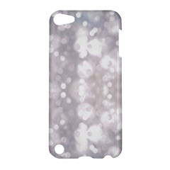 Light Circles, rouge Aquarel painting Apple iPod Touch 5 Hardshell Case