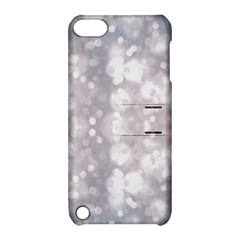 Light Circles, rouge Aquarel painting Apple iPod Touch 5 Hardshell Case with Stand