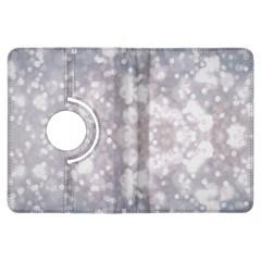Light Circles, rouge Aquarel painting Kindle Fire HDX Flip 360 Case