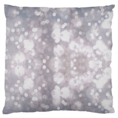 Light Circles, rouge Aquarel painting Standard Flano Cushion Case (Two Sides)