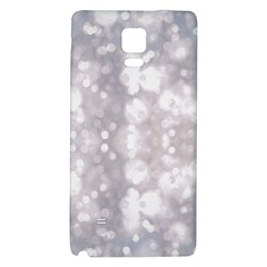 Light Circles, rouge Aquarel painting Galaxy Note 4 Back Case