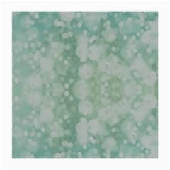 Light Circles, Mint green color Medium Glasses Cloth (2-Side)
