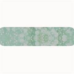 Light Circles, Mint green color Large Bar Mats