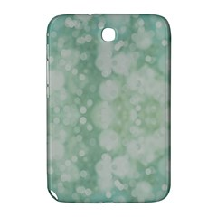 Light Circles, Mint green color Samsung Galaxy Note 8.0 N5100 Hardshell Case