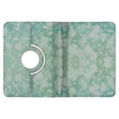 Light Circles, Mint green color Kindle Fire HDX Flip 360 Case