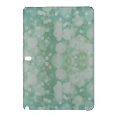 Light Circles, Mint green color Samsung Galaxy Tab Pro 12.2 Hardshell Case