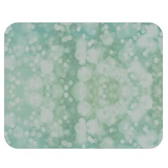 Light Circles, Mint green color Double Sided Flano Blanket (Medium)