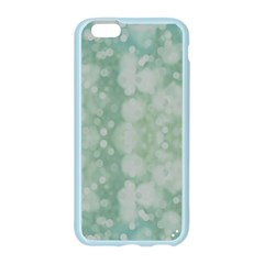 Light Circles, Mint green color Apple Seamless iPhone 6/6S Case (Color)