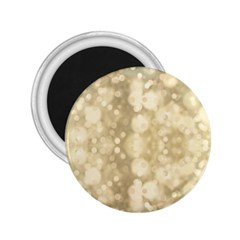 Light Circles, Brown Yellow color 2.25  Magnets
