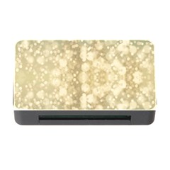Light Circles, Brown Yellow color Memory Card Reader with CF