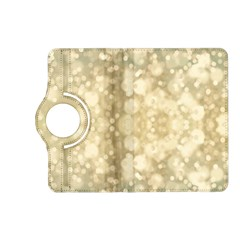 Light Circles, Brown Yellow color Kindle Fire HD (2013) Flip 360 Case