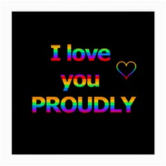 I love you proudly Medium Glasses Cloth (2-Side)