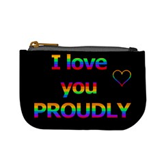 I love you proudly Mini Coin Purses