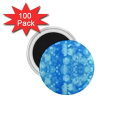 Light Circles, dark and light blue color 1.75  Magnets (100 pack)