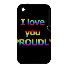 I love you proudly iPhone 3S/3GS