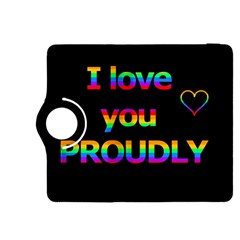 I love you proudly Kindle Fire HDX 8.9  Flip 360 Case