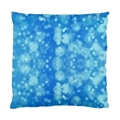 Light Circles, dark and light blue color Standard Cushion Case (Two Sides)