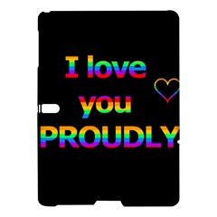 I love you proudly Samsung Galaxy Tab S (10.5 ) Hardshell Case